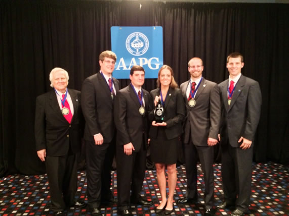 2014 UL Lafayette 1st place International